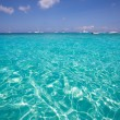 Formentera Cala Saona beach Balearic Islands — Stockfoto