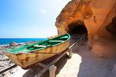 Formentera Cala en Baster in Balearic Islands of Spain — Stock Photo