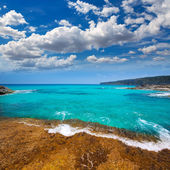 Formentera Escalo de San Agustin beach — Stock Photo