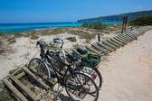 Es calo Escalo de san Agustin Beach in Formentera — Stock Photo