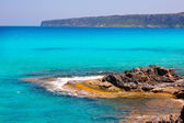 Es calo Escalo de san Agustin Beach in Formentera — Stock Photo