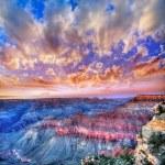 Arizona sunset Grand Canyon National Park Mother Point US — Stock Photo #36065201