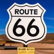 Route 66 road sign in Arizona USA — Foto Stock