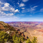 Arizona Grand Canyon Park Mother Point and Amphitheater — 图库照片