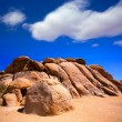 Rocks in Joshua tree National Park California — Foto Stock