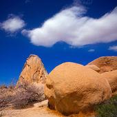 Parque nacional de joshua tree intersección roca california — Foto de Stock