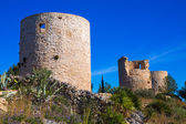 Javea denia San antonio Cape old windmills masonry structure — Stock Photo