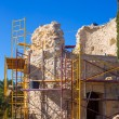 Javea Denia Mediterranean tower masonry improvement — Stock Photo