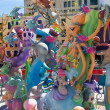 Stock Photo: Fallas is popular fest in ValenciSpain figures will be burne