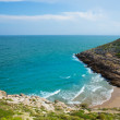 Stock Photo: CullerCalbeach near Faro in blue Mediterranean