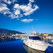 Stock Photo: Denia marina boats in alicante Valencia Province Spain