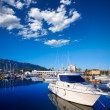 Stock Photo: Denimarinboats in alicante ValenciProvince Spain