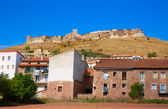 Cedrillas village Teruel skyline famous for the cattle fair — Stock Photo