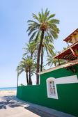 Denia Alicante Marineta Casiana beach in Spain — Stock Photo