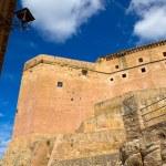 Mora de Rubielos Teruel Muslim Castle in Aragon Spain — Stock Photo #37659515
