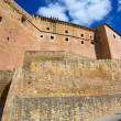 Mora de Rubielos Teruel Muslim Castle in Aragon Spain — Stock Photo #37659535