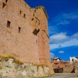 Mora de Rubielos Teruel Muslim Castle in Aragon Spain — Stock Photo #37659651