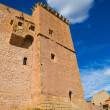 Mora de Rubielos Teruel Muslim Castle in Aragon Spain — Stock Photo #37659717
