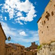 Mora de Rubielos Teruel Muslim Castle in Aragon Spain — Stock Photo #37659737
