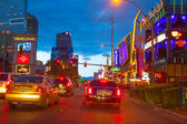Editorial use only Las Vegas Nevada Strip at night — Stock Photo