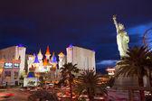 Editorial use only Las Vegas Nevada Strip at night — Zdjęcie stockowe