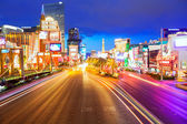 Editorial use only Las Vegas Nevada Strip at night — ストック写真