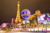 Editorial use only Las Vegas Nevada Strip at night — Foto Stock