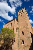Mora de Rubielos in Teruel Aragon stonewall village — Stock Photo