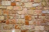 砌体墙在特鲁埃尔西班牙 maestrazgo — 图库照片