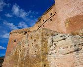 Mora de Rubielos Teruel Muslim Castle in Aragon Spain — Stock Photo