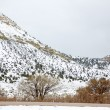 NevadUSspring snow in mountains — Stock Photo #37661051