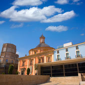 Valencia downtown cathedral and basilica Spain — Stock Photo