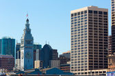 San Francisco Ferry Building Clock Tower in Embarcadero — Stock Photo