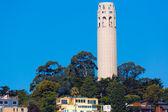 Coit tower san francisco kalifornia — Zdjęcie stockowe