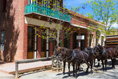 California Columbia a real old Western Gold Rush Town — 图库照片