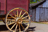 California Columbia carriage in an old Western Gold Rush Town — Foto Stock