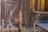 California old far west wooden textures — Stock Photo