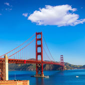 Golden Gate Bridge San Francisco from Presidio California — Stockfoto