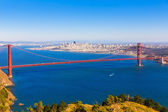 San Francisco Golden Gate Bridge Marin headlands California — Foto de Stock