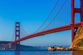 San Francisco Golden Gate Bridge California — Stockfoto