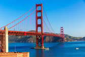 Golden gate brug san francisco uit presidio Californië — Stockfoto