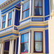 SFrancisco Victorihouses in Haight Ashbury California — Stock Photo #39034955