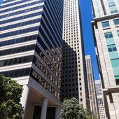 San Francisco Downtown buildings at California — Stock Photo