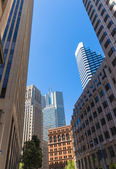 San Francisco downtown buildings in California — Stockfoto