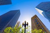 San Francisco Market Street Downtown in California — Stock Photo