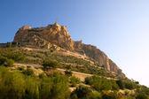 Alicante Santa Barbara Castle in Spain — Stock Photo