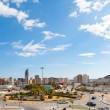 Benidorm Alicante cityscape skyline vacation destination — Stock Photo #39734049