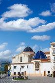 Benidorm San jaime church Alicante Spain — Stok fotoğraf