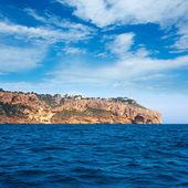 Cabo de la Nao Cape lighthouse in mediterranean sea Alicante — Stock Photo