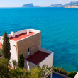 Stock Photo: MorairAlicante high angle view mediterranehouses
